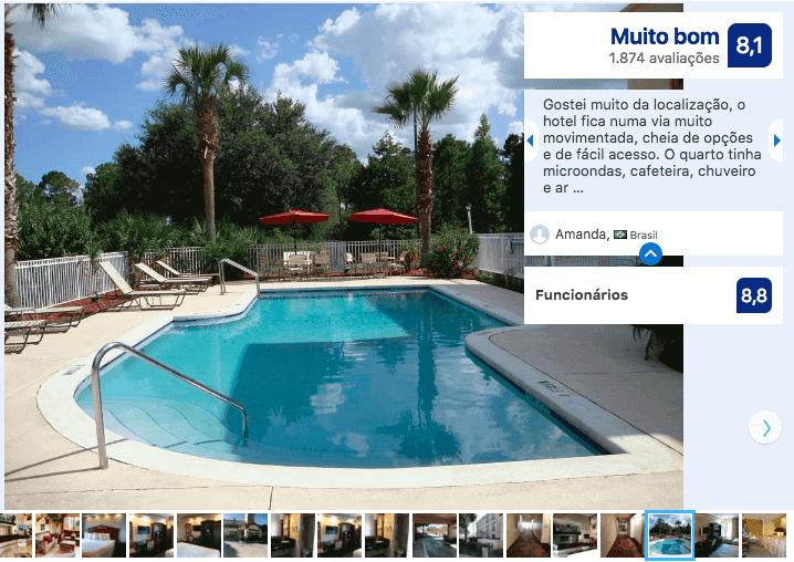Hotéis bons e baratos em Kissimmee: Hotel Destiny Palms