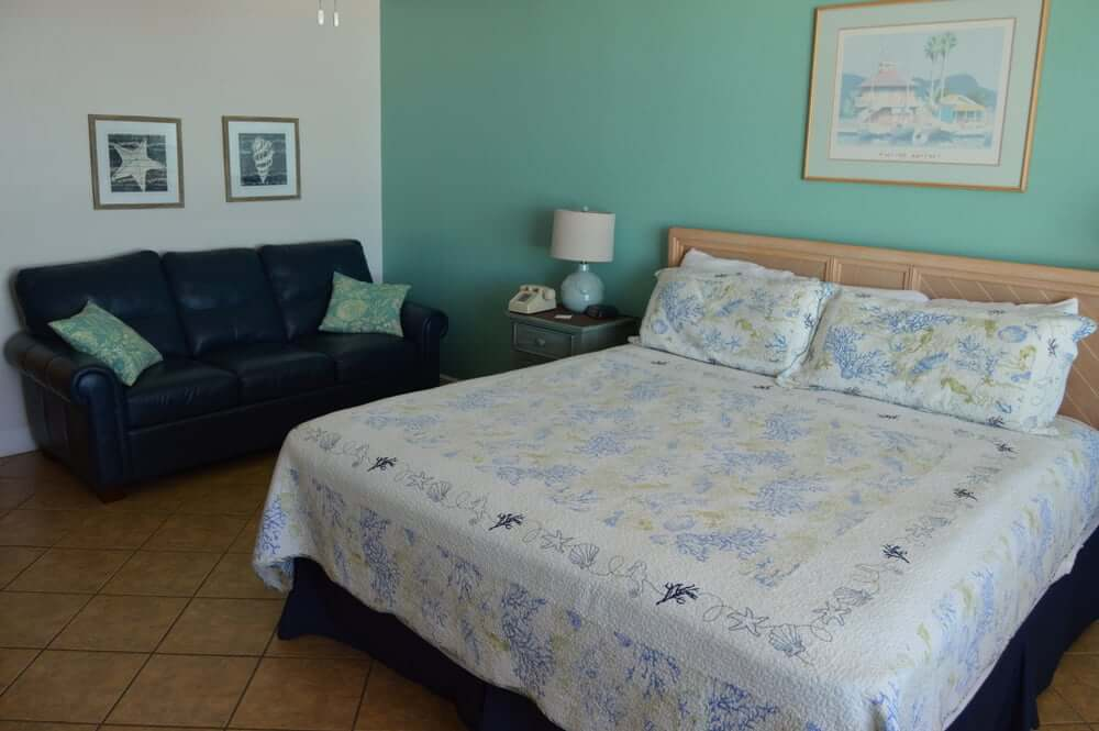 Hotéis bons e baratos em Daytona Beach: Hotel Fountain Beach Resort - quarto