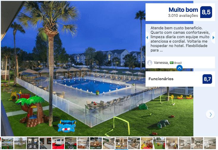 Hotéis bons e baratos em Kissimmee: HotelMagic Moment Resort and Kids Club