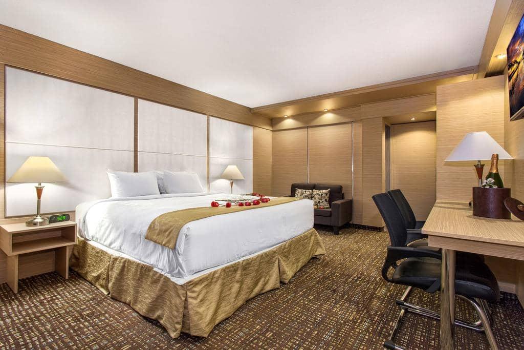 Dicas de hotéis em Fort Lauderdale: HotelOcean Beach Palace - quarto