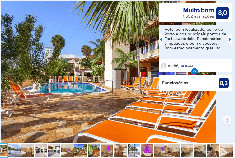 Dicas de hotéis em Fort Lauderdale: HotelOcean Beach Palace