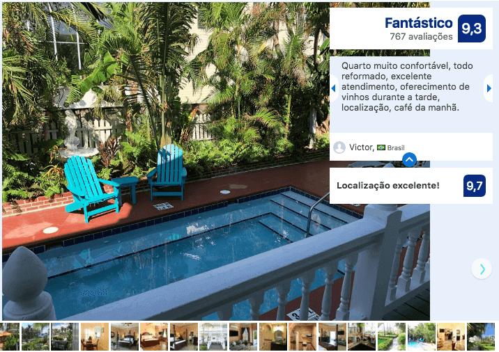 Melhores hotéis em Key West: Hotel Southernmost Point Guest House