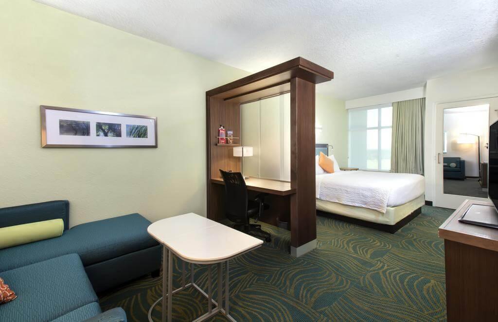 Melhores hotéis em Kissimmee: Hotel SpringHill Suites by Marriott Orlando - quarto