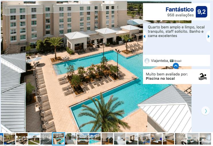 Melhores hotéis em Kissimmee: Hotel SpringHill Suites by Marriott Orlando
