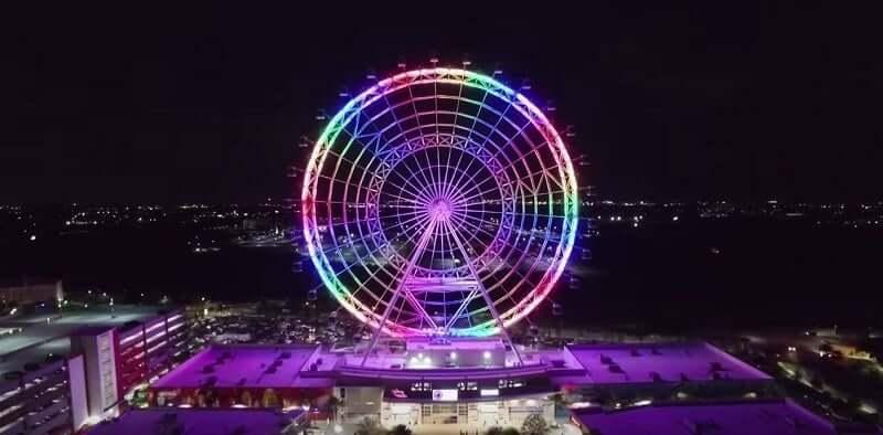 Por que Orlando é considerado o melhor destino para as férias de julho: Orlando Eye